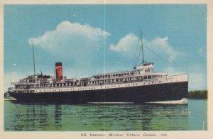WINDSOR, Ontario, Canada, 1900-1910s; S.S. Hamonic