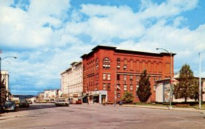 NY - Olean. Municipal Bldg & North Union St