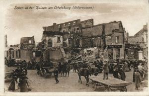 poland germany, ORTELSBURG SZCZYTNO, Life between Ruins (1915) East Prussia