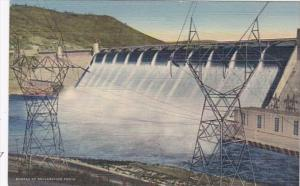 Washington Grand Coulee Dam Power Transmission Towers Curteich