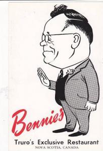 Bennie's Restaurant , TRURO , Nova Scotia , Canada , 40-60s