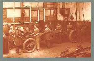 War Workers Women Work Engineering Shop Vehicle Auto Car 1917 Nostalgia Reprint