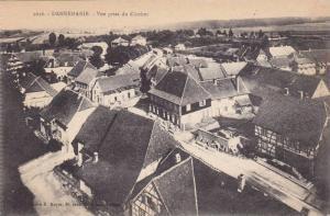 Vue Prise Du Clocher, Dannemarie (Haut Rhin), France, 1900-1910s