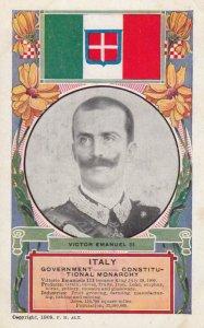 ITALY , 00-10s ; Victor Emanuel III