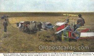Harvesting Farming, Farm, Farmer  1919