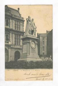 JF Willems Monument,Ghent,Belgium 1900-10s