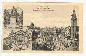 Frankfort a. M., Germany, 00-10s 3-view postcard