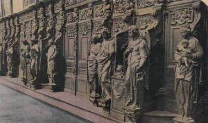 Belgium Anvers Les Confessionnaux a l'eglise St Paul