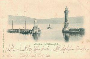 Germany Lindau Hafeneinfahrt 03.23