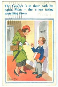 Donald Mcgill Comic 1937 used Postcard