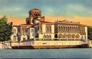 Florida Sarasota John Ringling Mansion Curteich