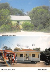 Grand Cayman Islands Post card Old Vintage Antique Postcard Former Hell Post ...