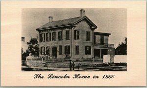 Springfield, Illinois Postcard LINCOLN HOME Admission Ticket from 2003 NPS