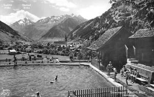 Schwimmbad Rauris Salzburg Berg, Swimming Pool Panorama Ritterkopf, Sonnblick