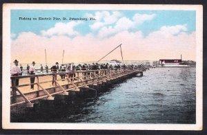 FL – St Petersburg – Fishing on Electric Pier