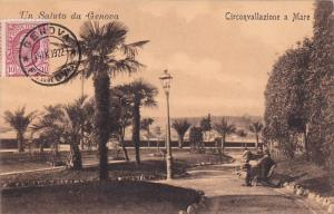 Circonvallazione A Mare, Un Saluto Da Genova (Liguria), Italy, 1900-1910s