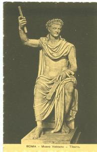 Roma, Museo Vaticano, Tiberio, unused Postcard