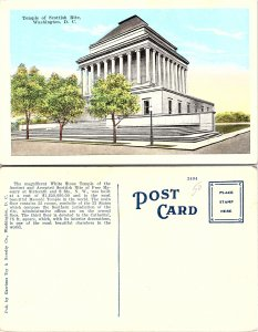 Temple of Scottish Rite, Washington D. C.