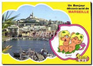 CARTE A Post Modern coupons Hello Marseille