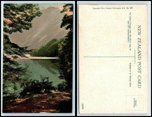 NEW ZEALAND Postcard - Rere Lake, Wakatipu AH