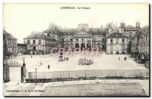 Old Postcard Luneville Chateau