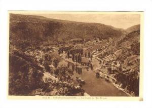 Le Doubs Et l'Ile Malpas, Besançon-les-Bains (Doubs), France, 1900-1910s