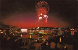Iowa Sioux City River Cade Celebration Fireworks Display