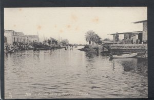 Iraq Postcard - Marine Repair Shop & Customs, Basra   RS18511