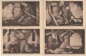Lot germanic heroic legends Nibelungen Pictures Worms by Schmoll von Eisenwerth