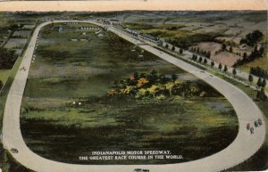 INDIANAPOLIS, Indiana, 1916; Indianapolis Motor Speedway, Race Course