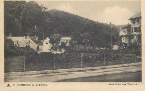 Postcard France Bagneres de Bigorre Rond Point des Thermes