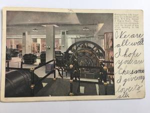 NY City Metropolitan Life Insurance co Home Office Building Engine Room A24