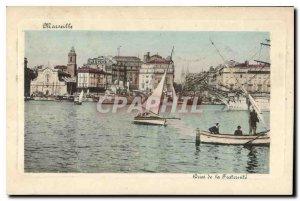 Postcard Old Marseille Quai de la Fraternite