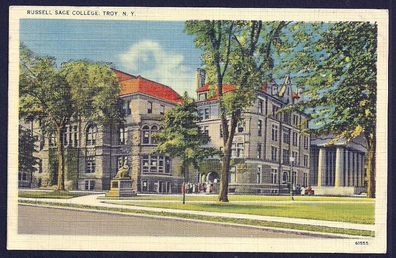 Russell Sage College Troy New York used c1942