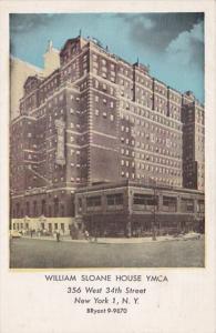 New York City William Sloane House Y M C A Hotel