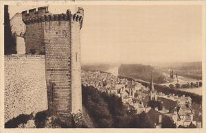 France Chinon Vue generale de la Ville prise du Chateau 1938