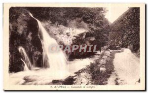 Postcard Old Ayduis Waterfall and Gorges