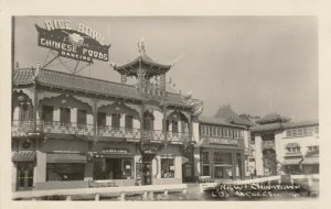 RP: LOS ANGELES,California, 30-40s; New Chinatown , Rice Bowl Restaurant