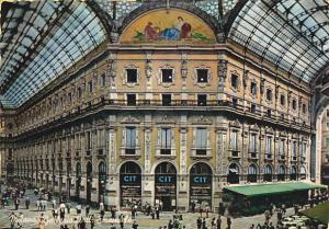 Vittorio Emanuele Gallery Milano Italy