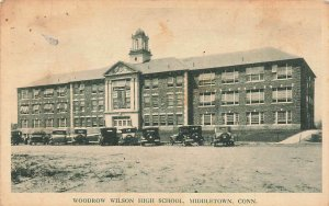 Woodrow Wilson High School  Middletown CT 1938  VTG P128