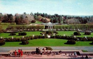 Pennsylvania Kennett Square Longwood Gardens Terrace View Of Fountain Gardens