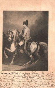 Vintage Postcard Napoleon Dessin De Charlet Horse Riding
