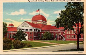 Illinois Springfield Agricultural Building Illinois State Fair Grounds Curteich