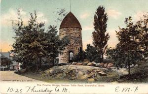Somerville Massachusetts Nathan Tifts Park Powder House Antique Postcard J51360