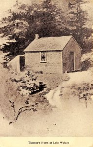 MA - Walden Pond (Lake). Thoreau's Home