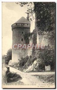 Old Postcard Around Bagnoles de l'Orne Chateau de Lassay Le Donjon