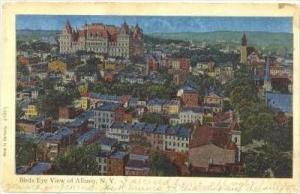 Bird's Eye View Of Albany, New York, PU-1907