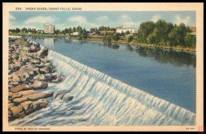 Snake River, Idaho Falls, Idaho