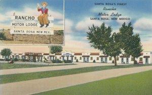SANTA ROSA , New Mexico , 1950-60s ; RT 66 ; Rancho Motor Lodge