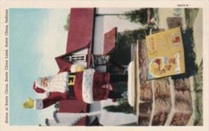 Indiana Santa Claus Statue Of Santa Claus Santa Claus Land Curteich